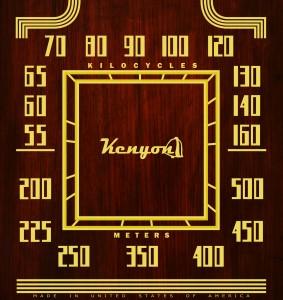 Dial Scale - Kenyon