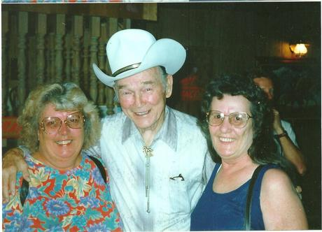 My famous aunts along with some random guy in a Cowboy Hat ;-)  (Who just happens to be Roy Rogers!)